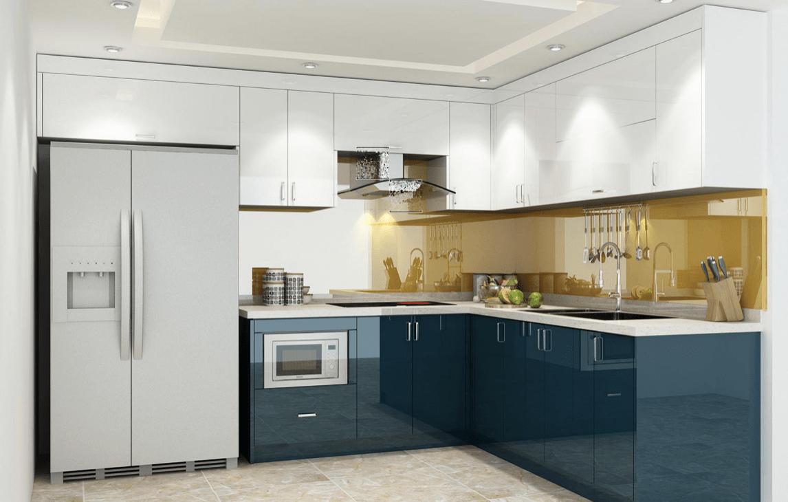 Quy trình thiết kế và thi công tủ bếp gỗ công nghiệp của tubepdep.studio