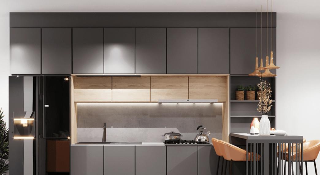 Tủ bếp Inox trong nội thất phòng bếp