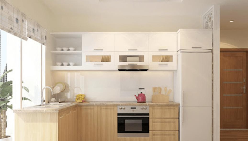 Căn hộ chung cư nên chọn tủ bếp gỗ gì bền đẹp?
