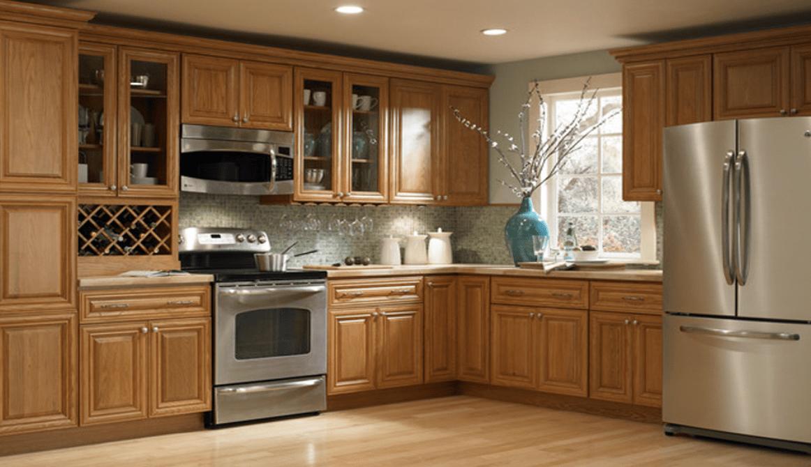 Ưu điểm của tủ bếp gỗ Veneer trong nội thất nhà bếp