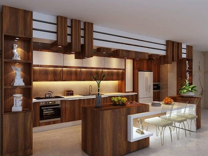 Kích Thước Tủ bếp chữ U Chuẩn Cho mọi nội thất phòng bếp