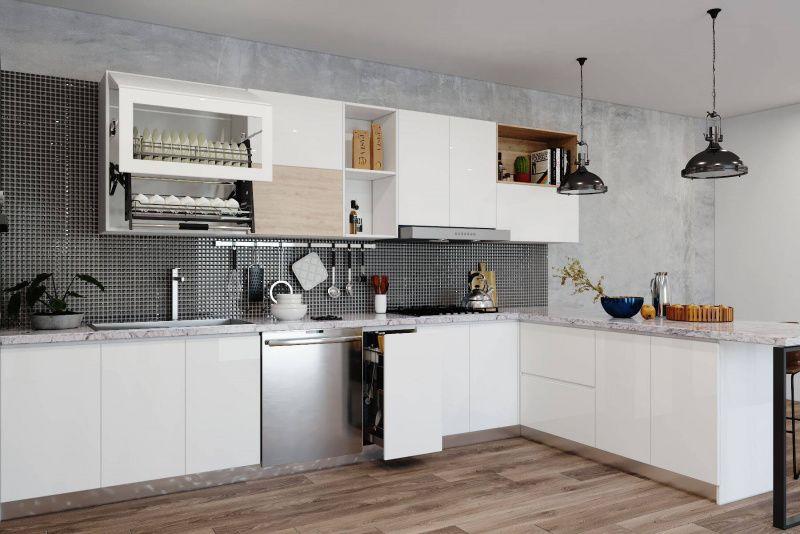 TOP 4 mẫu thiết kế tủ bếp phổ biến nhất trên thị trường