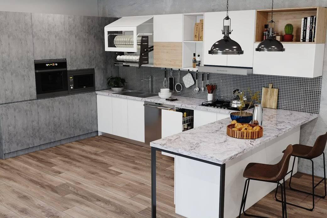 Tủ bếp gỗ công nghiệp có nên chọn cốt gỗ MDF kháng ẩm để đóng?