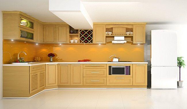Ưu điểm của tủ bếp gỗ sồi tự nhiên tại tubepdep.studio