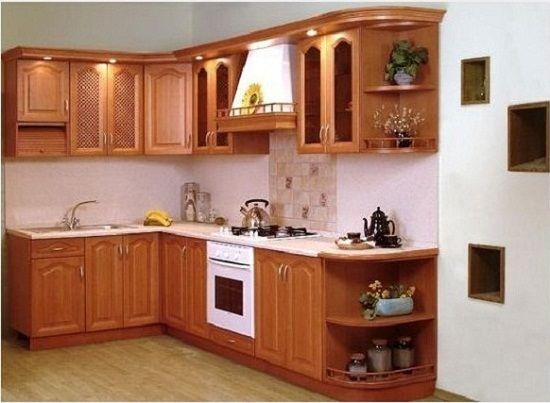 Nên lựa chọn tủ bếp gỗ công nghiệp hay gỗ tự nhiên?