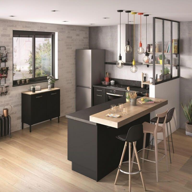 Thiết kế đảo bếp đa năng cho nội thất bếp gia đình