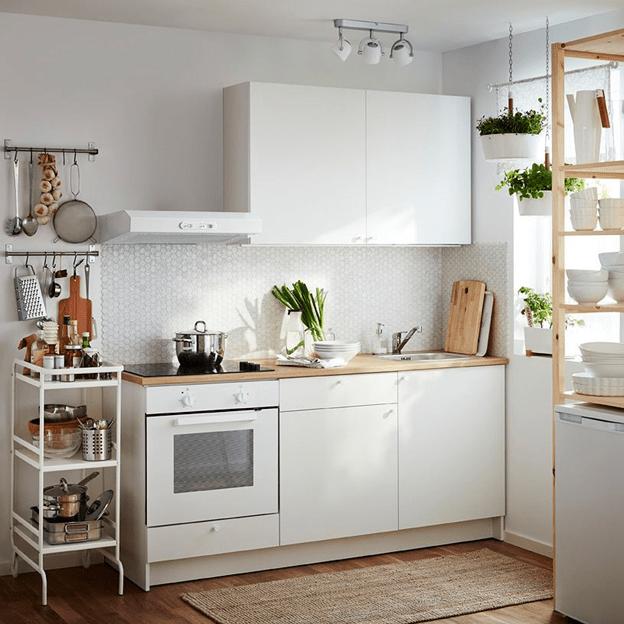 TOP 4 mẫu tủ bếp nhỏ vừa cho căn nhà hẹp