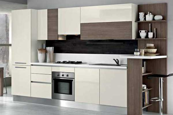 Tủ bếp đẹp chữ I