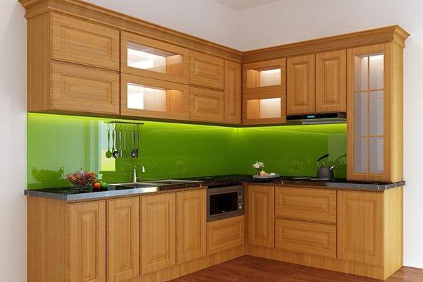 Ưu điểm của tủ bếp gỗ xoan đào tại tubepdep.studio