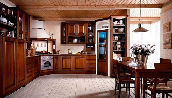 TOP 7 mẫu tủ bếp gỗ xoan đào bạn cần biết