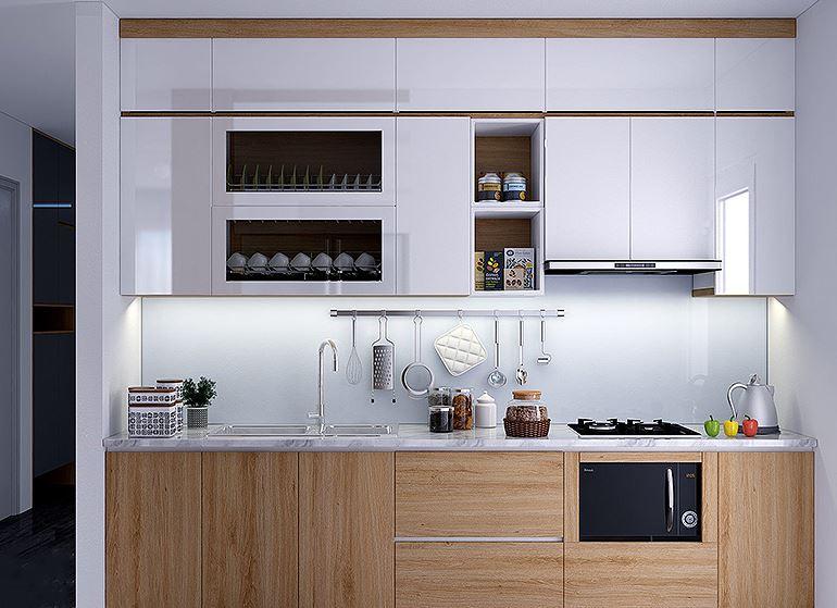 TOP 3 mẫu tủ bếp gỗ công nghiệp đẹp, tiện dụng cho ngôi nhà nhỏ
