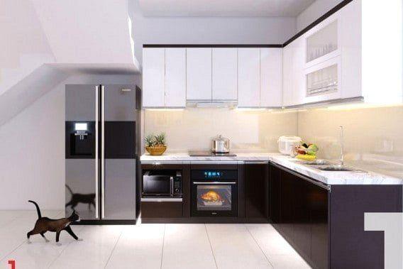 Cập nhật xu hướng tủ bếp đẹp hiện đại được ưa chuộng nhất trong năm