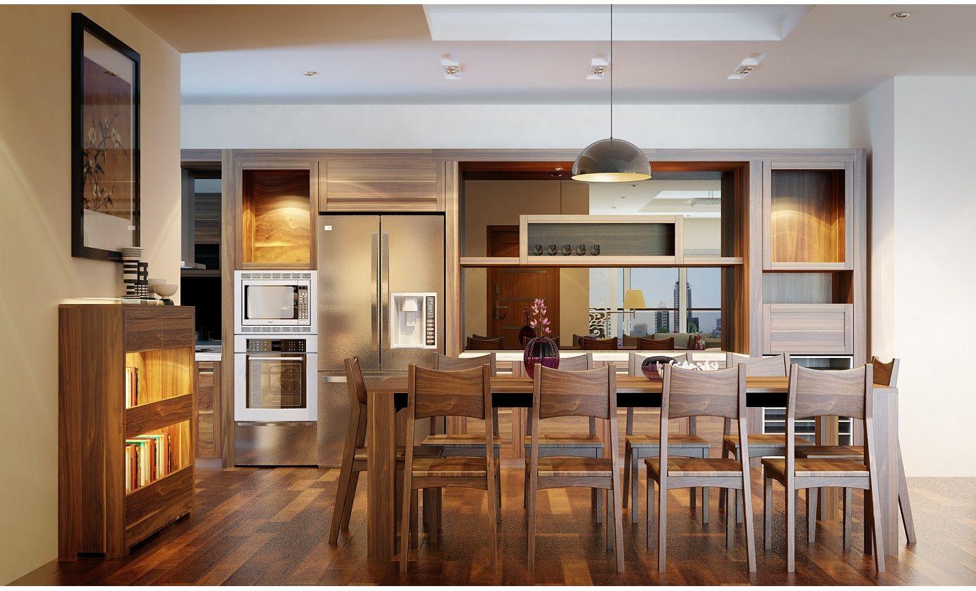 Tại sao tủ bếp gỗ sồi trắng được khách hàng ưa chuộng nhất?