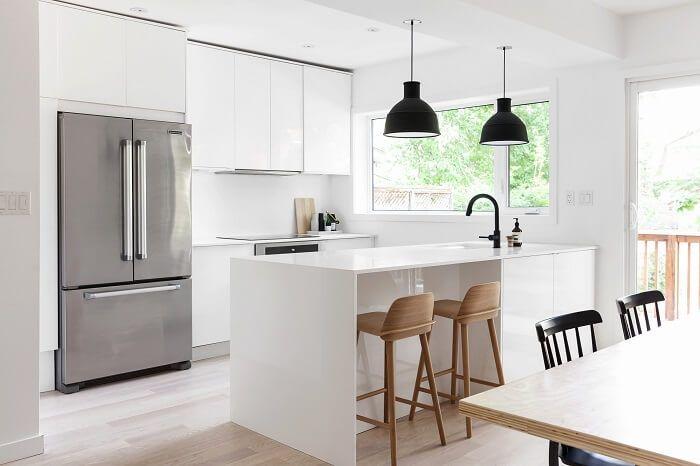 Thiết kế đảo bếp đa chức năng cho nội thất phòng bếp gia đình