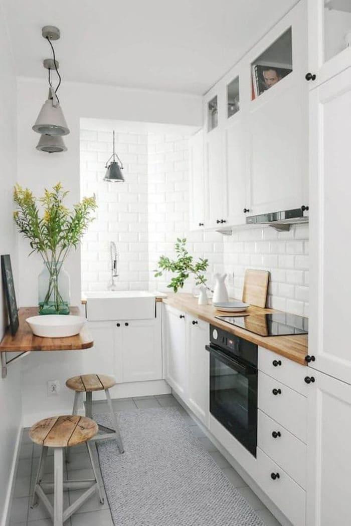 Phong cách trang trí nội thất bếp tối giản Minimalism