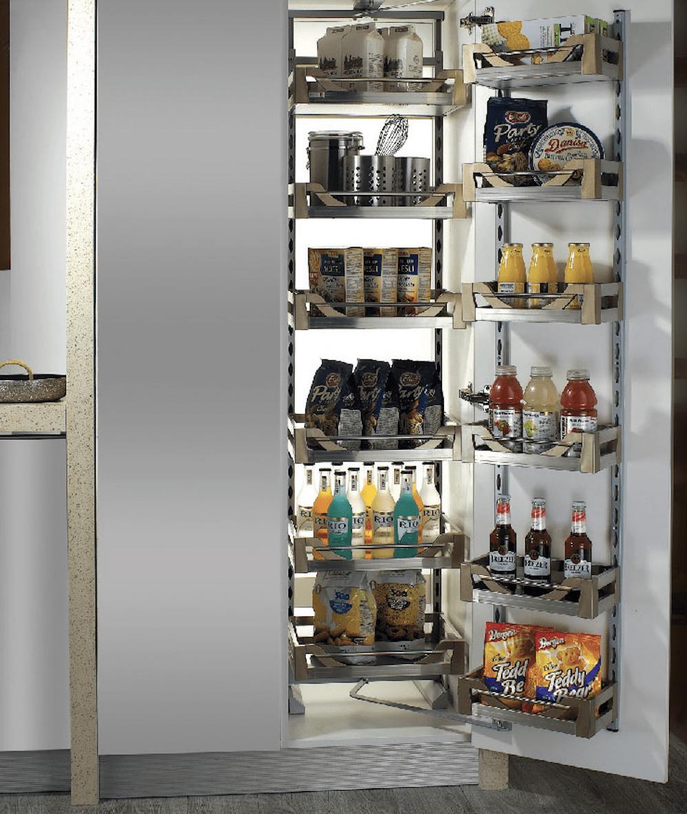 Tổng hợp các loại phụ kiện tủ bếp cơ bản không thể thiếu trong gia đình bạn