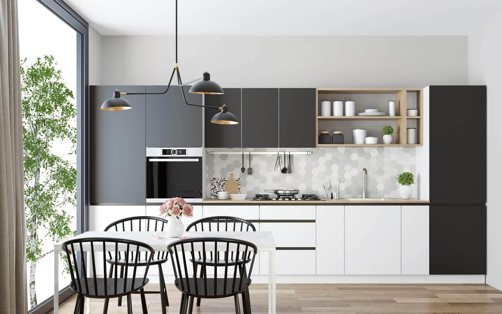 Giải pháp thiết kế phòng bếp chung cư đẹp