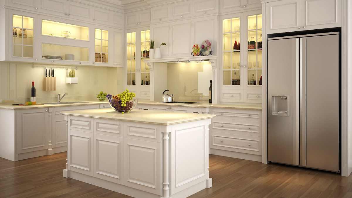 Nên chọn tủ bếp gỗ tự nhiên hay gỗ công nghiệp?
