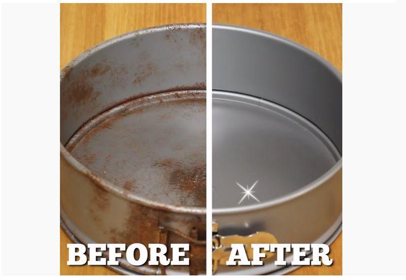 Gợi ý cách tẩy vết rỉ sét trên đồ kim loại trong phòng bếp đơn giản mà hiệu quả