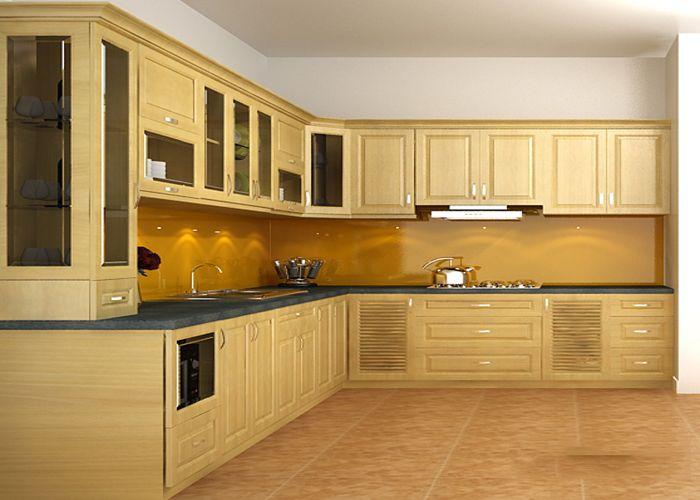 Kích Thước Tủ bếp chữ L Chuẩn Cho mọi nội thất phòng bếp