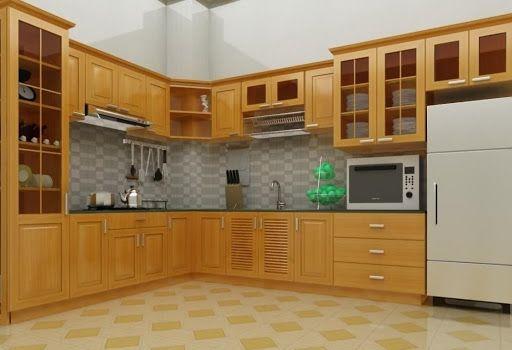 Lý do nên chọn tủ bếp gỗ sồi Nga thay cho tủ bếp gỗ công nghiệp