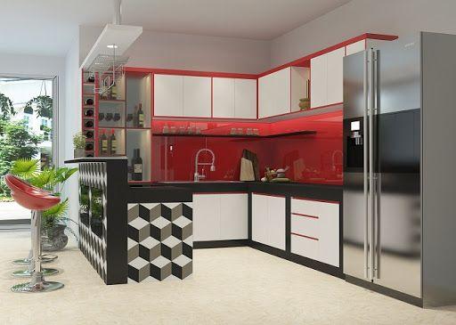 Những thiết kế độc và đẹp của Tủ bếp Acrylic