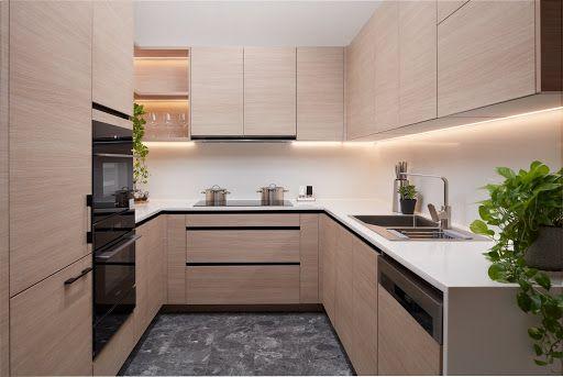 Chất lượng của tủ bếp gỗ Melamine