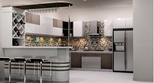 Mẹo chọn quầy bar đẹp cho từng không gian bếp