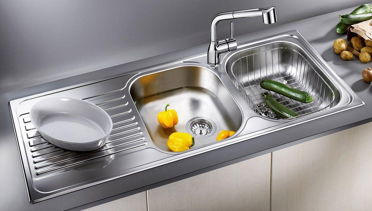 Kinh nghiệm chọn bồn rửa chén bát trong nội thất bếp gia đình