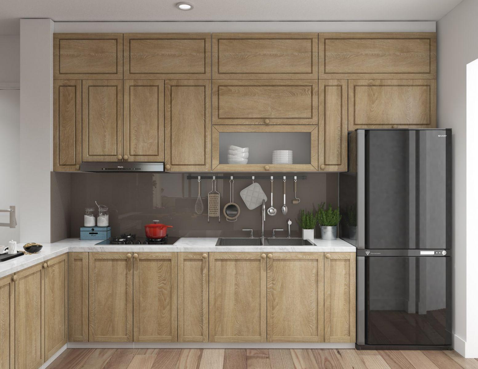 Kinh nghiệm chọn tủ lạnh trong nội thất bếp gia đình
