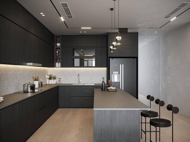 Hệ thống cửa trượt trong nội thất bếp bạn nên biết