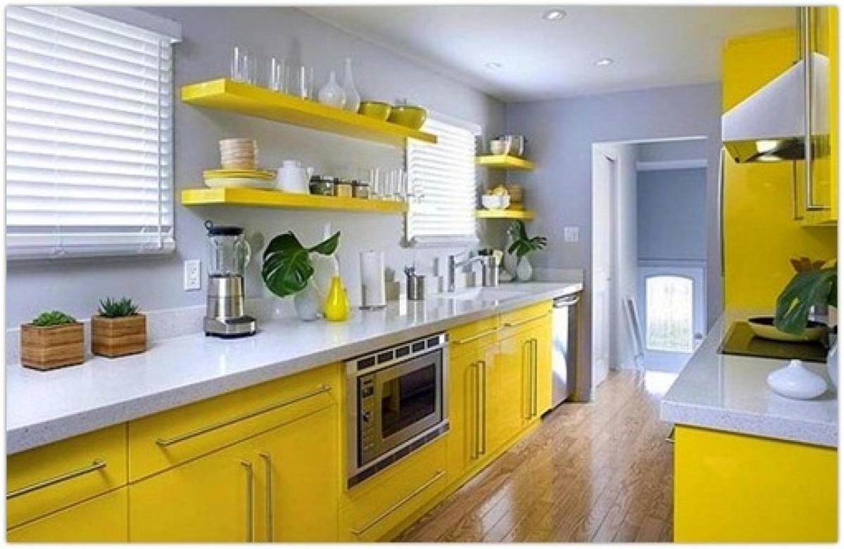 Màu sơn phòng bếp ảnh hưởng như thế nào đến bữa ăn?