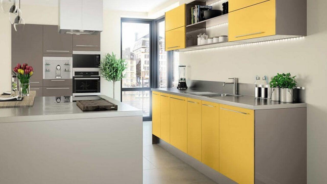 TOP 2 tone màu làm cho tủ bếp nhà bạn luôn hợp thời