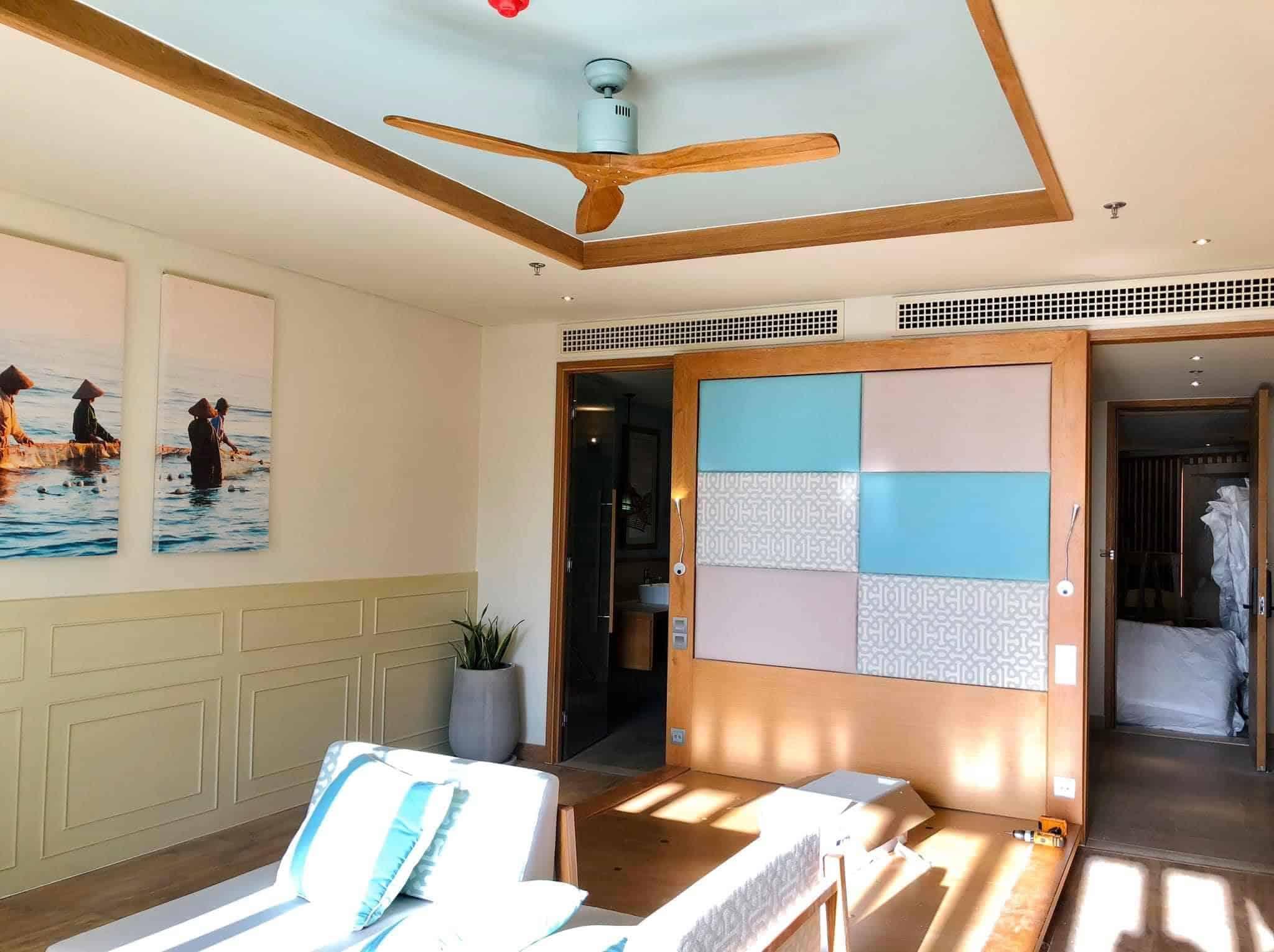 Xu hướng trang trí không gian với quạt trần trong phòng bếp