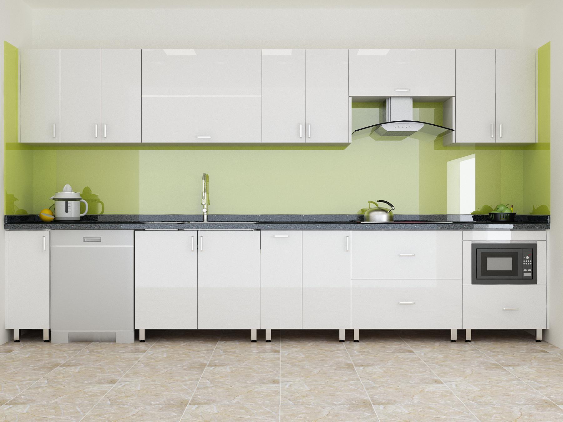 Có nên chọn vật liệu Acrylic làm tủ bếp gia đình?