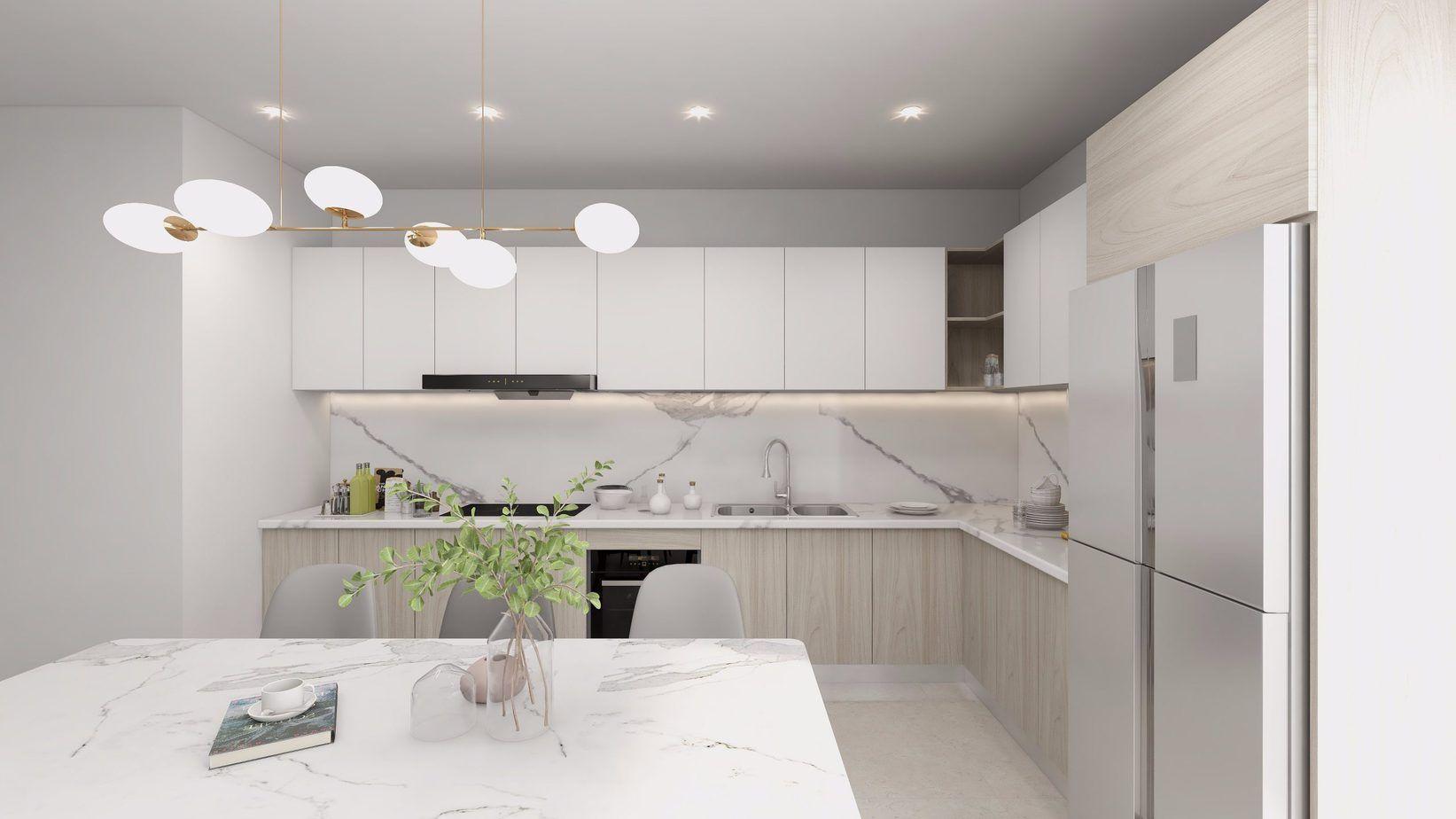Làm thế nào để giữ tủ bếp màu trắng của bạn luôn sạch sẽ?