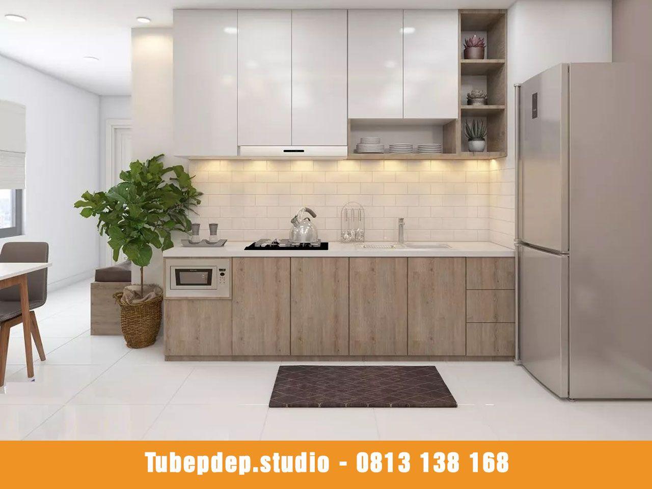 Chất liệu tủ bếp Alumax cao cấp cho nội thất phòng bếp