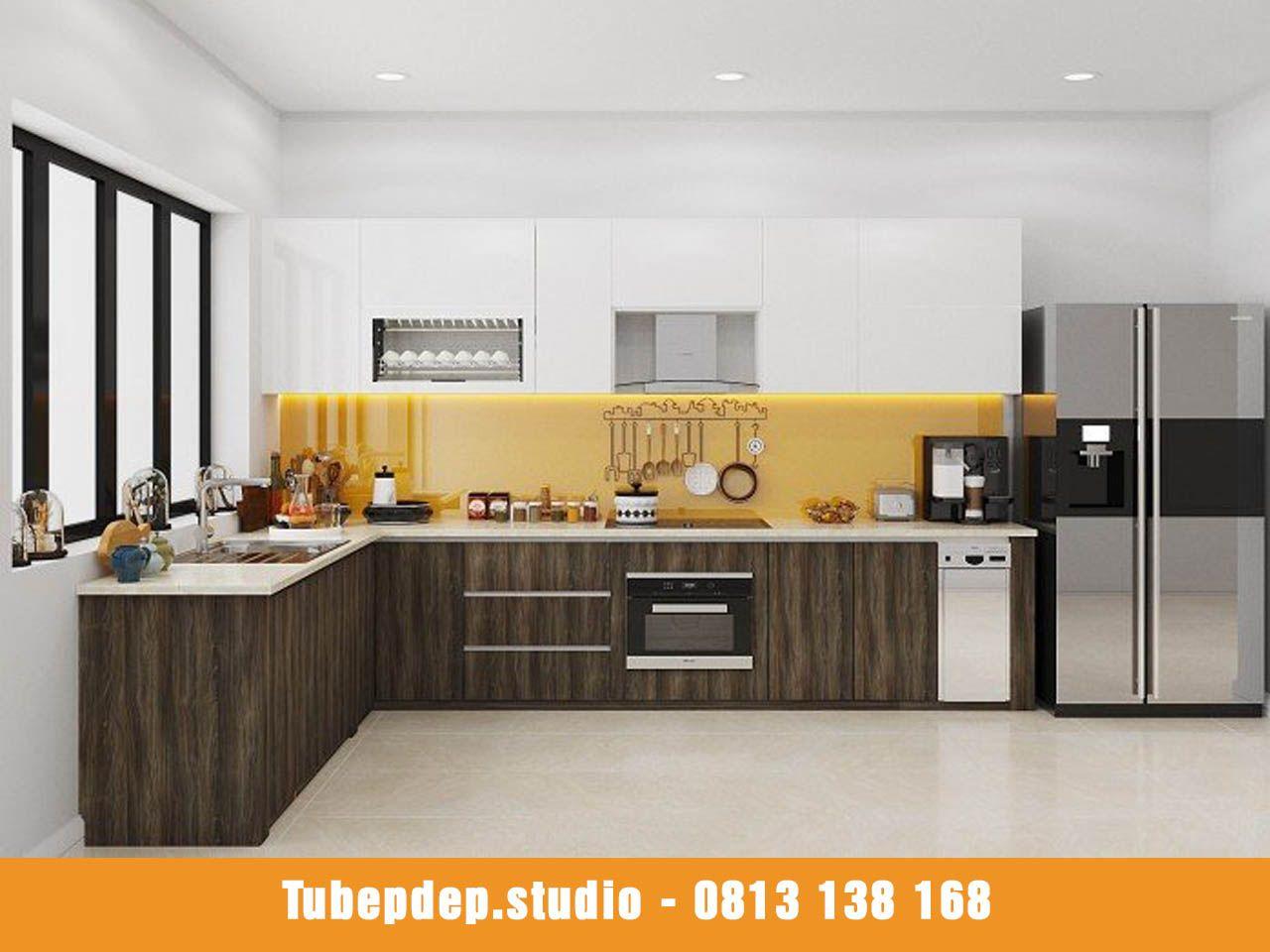 Top 50+ mẫu thiết kế tủ bếp đẹp và hiện đại cho mọi không gian bếp