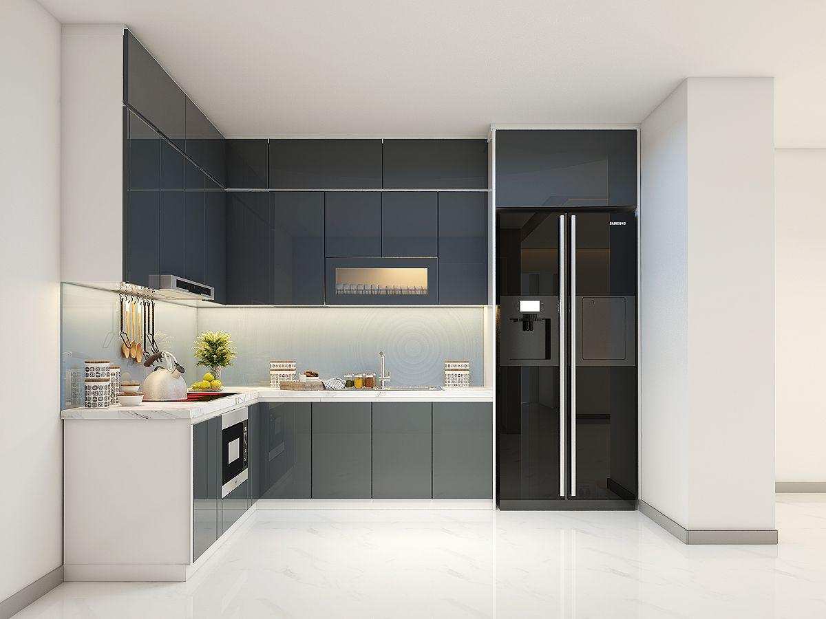 Chất liệu gỗ Melamine cho tủ bếp đẹp không thể ngờ