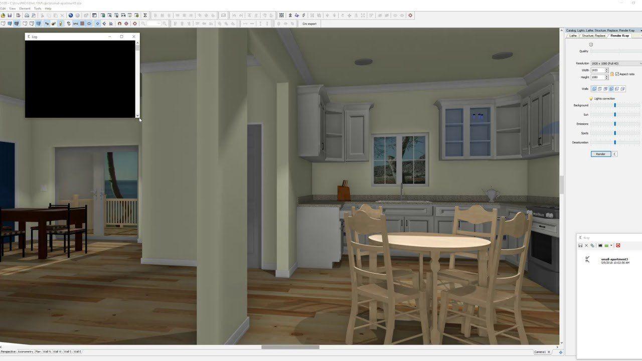 Tìm hiểu về phần mềm thiết kế nội thất PRO100