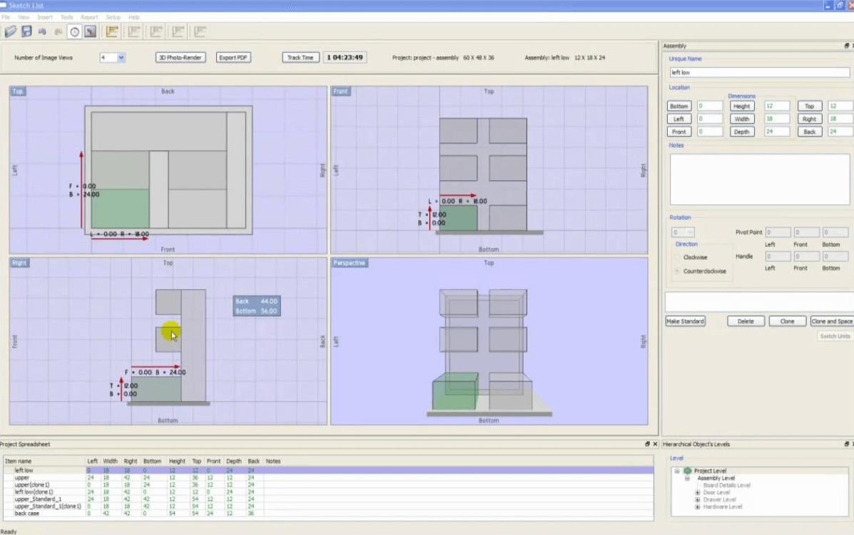 Tìm hiểu về phần mềm thiết kế nội thất SketchList 3D