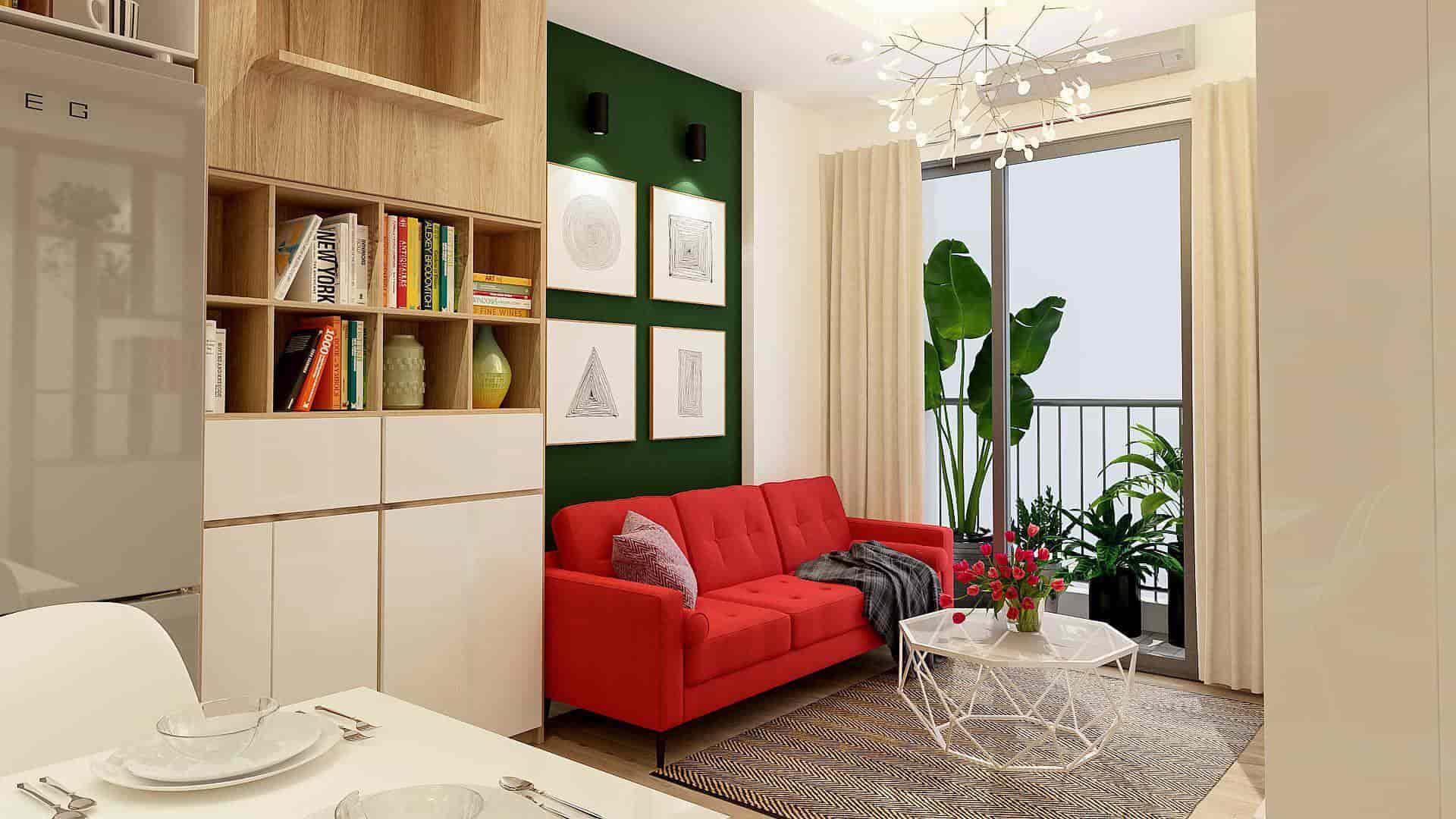 Lựa chọn màu sắc nội thất hợp phong thủy với gia chủ mệnh Hoả