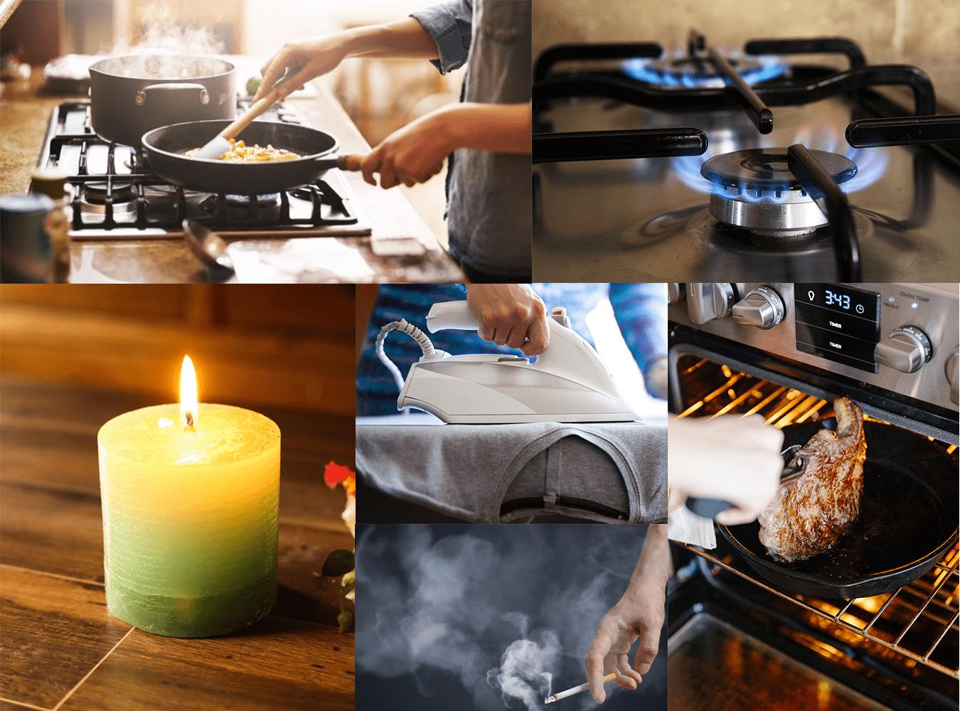Nguyên tắc phòng cháy chữa cháy trong nhà bếp gia đình