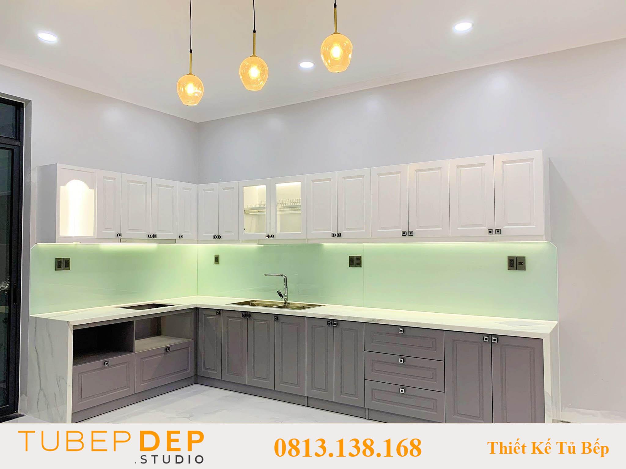 Đơn vị thiết kế tủ bếp cao cấp tại Tân Bình