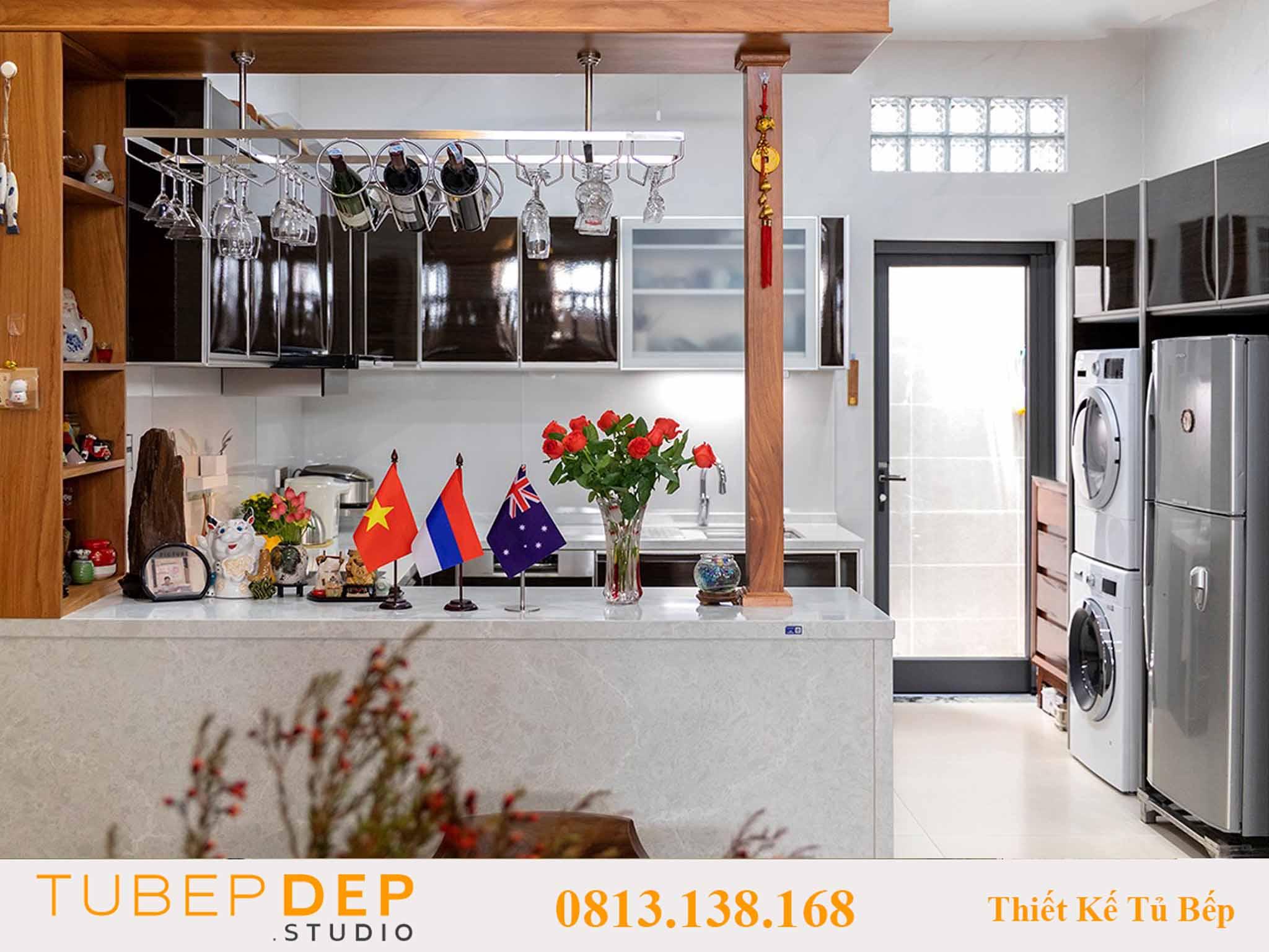 Dịch vụ thiết kế tủ bếp giá rẻ tại Quận 6