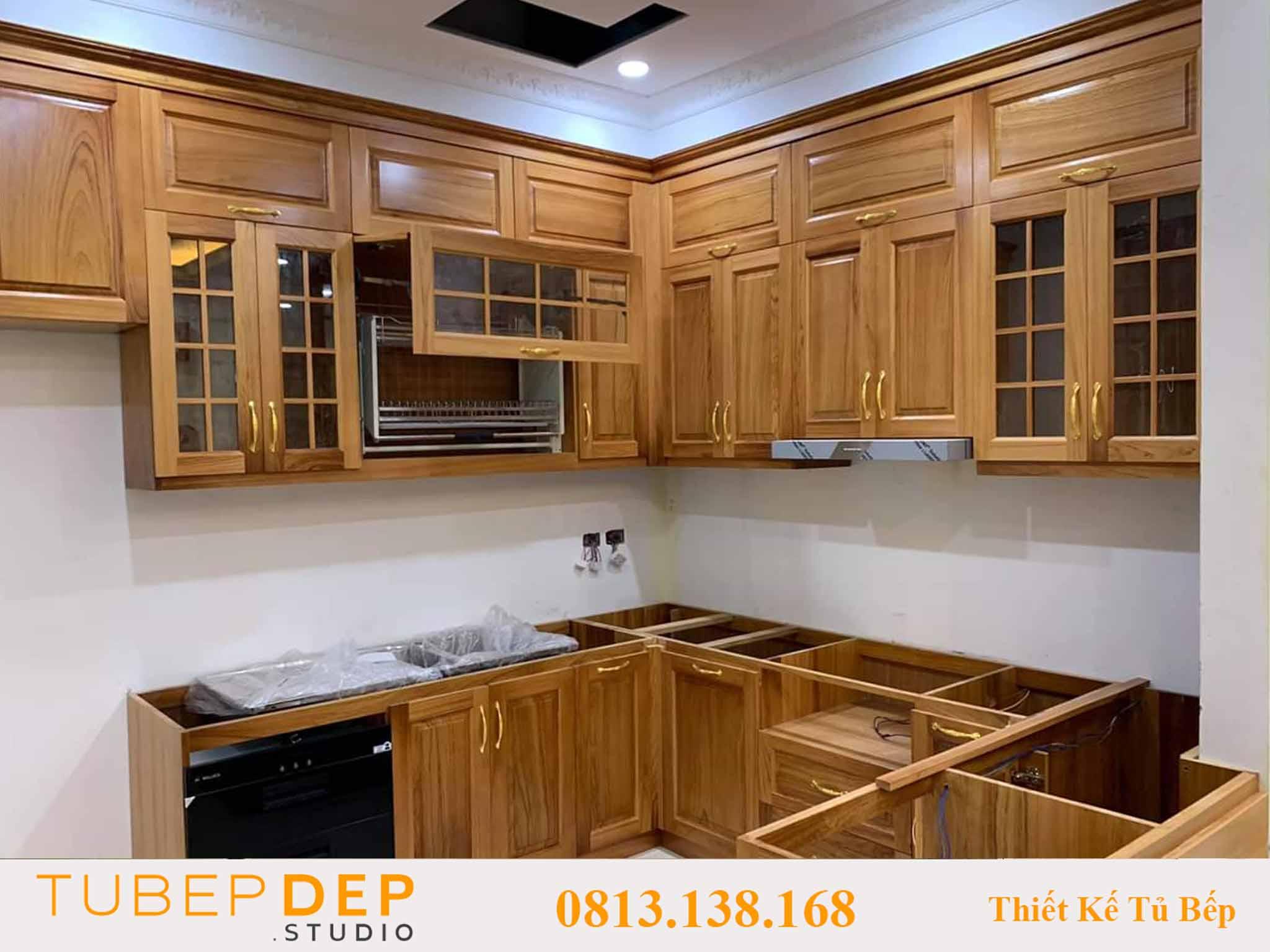 Dịch vụ thiết kế tủ bếp theo yêu cầu tại Quận 10 giá rẻ vô địch